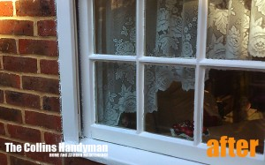 Wooden windows restoring and repairing After Photo