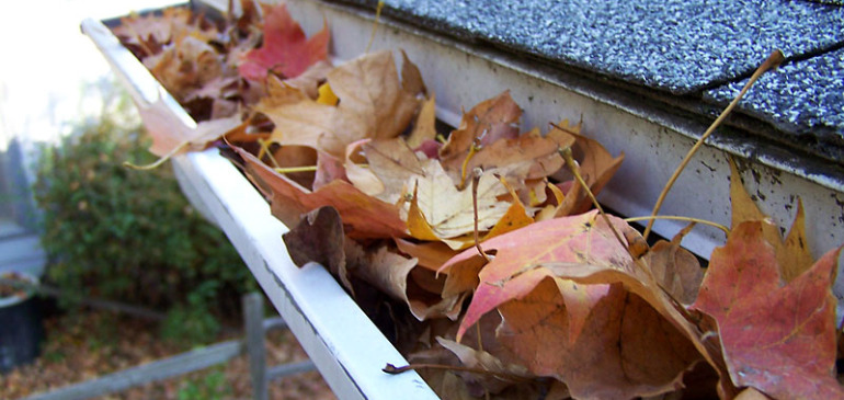 How To Fix Blocked Gutters Problems